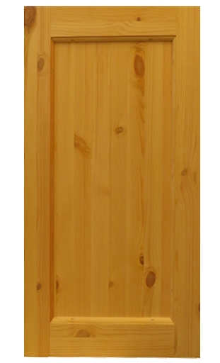 Replacement pine cupboard door
