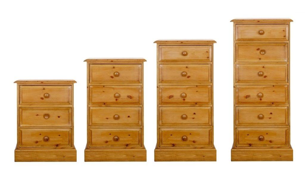 pine wellington chests of drawers by pegasus pine northampton