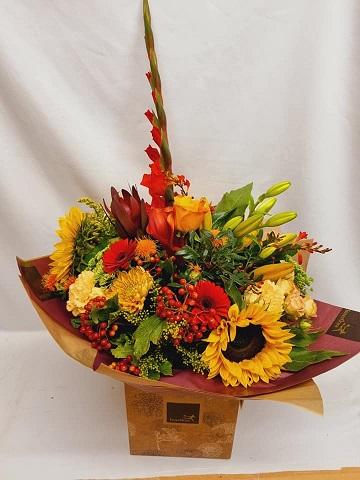 Bennett's Bouquets.  Northampton Kettering road