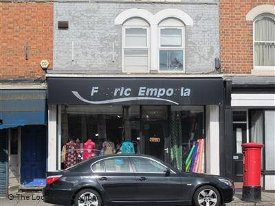 Fabric Emporia shopfront, Kettering road, Northampton