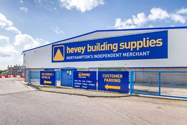 Hevey building materials, Northampton