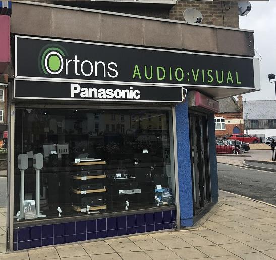 Ortons,  AudioVisual Hi fi, Kettering road, Northampton.