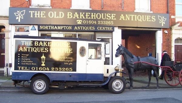 The Old Bakehouse Antique Centre, Northampton. Shopfront.