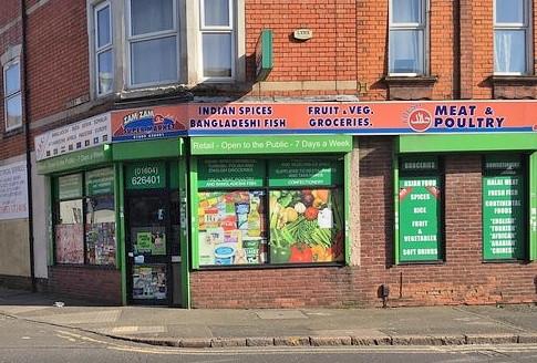 Zam zam grocers, Kettering road, Northampton