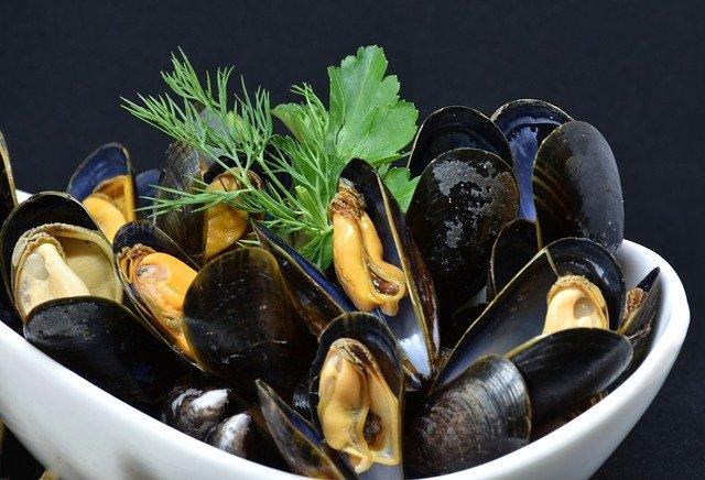 Zam Zam fishmonger, mussels, Kettering road, Northampton